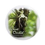 Florida Ghost Orchid Ornament