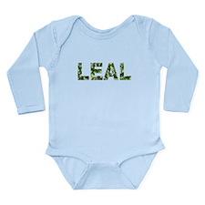 Leal, Vintage Camo, Long Sleeve Infant Bodysuit