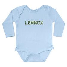 Lennox, Vintage Camo, Long Sleeve Infant Bodysuit