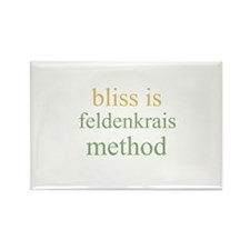 bliss is FELDENKRAIS METHOD Rectangle Magnet (10