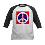 Vote Democrat for Peace First Kids Baseball Jersey