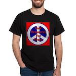 Vote Democrat for Peace First Dark T-Shirt
