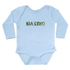 Maximo, Vintage Camo, Long Sleeve Infant Bodysuit