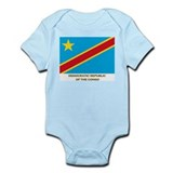 Flag of The Democratic Republ Infant Bodysuit