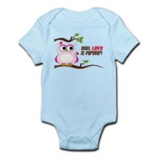 Owl Love Is Forever Infant Bodysuit