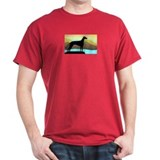 Cute Greyhound art T-Shirt