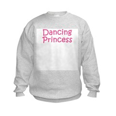 Dancing Princess Kids Sweatshirt