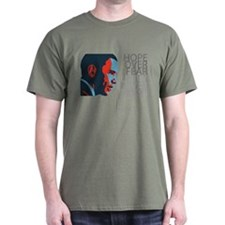 Obama - Red & Blue T-Shirt
