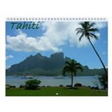 Tahiti Wall Calendar