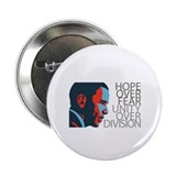 "Obama - Red & Blue 2.25"" Button"