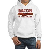 Bacon is the Answer Hoodie