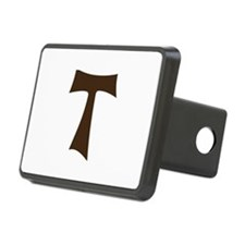 Tau Cross or Crux Commissa Hitch Cover