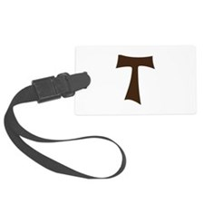 Tau Cross or Crux Commissa Luggage Tag