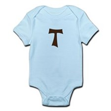 Tau Cross or Crux Commissa Infant Bodysuit