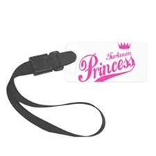 Turkmen Princess Luggage Tag
