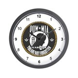 Masonic POW/MIA Warrior Wall Clock