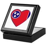 Tennessee Heart Keepsake Box