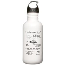 Cute Emmett cullen quotes Water Bottle