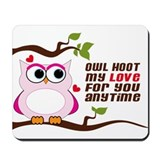 Owl Hoot Mousepad