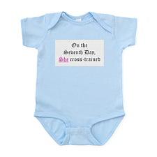 She Cross-Trained Infant Bodysuit