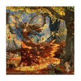Funny Fairy Tile Coaster
