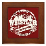 Whistler Old Circle Framed Tile