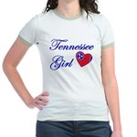 Tennessee Girl Jr. Ringer T-Shirt