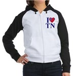 I Love Tennessee Women's Raglan Hoodie