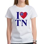 I Love Tennessee Women's T-Shirt