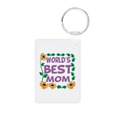 World's Best Mom Keychains