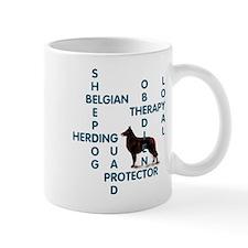 Belgian sheepdog Crossword Mug