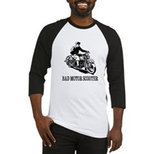 Bad Motor Scooter Baseball Jersey