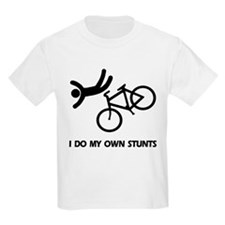 Bike, Bike, Funny Bike Stunts Kids T-Shirt