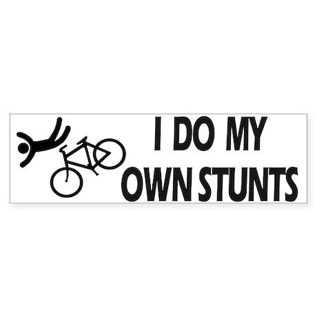 Bike, Bike, Funny Bike Stunts Bumper Bumper Stickers by idomyownstunts