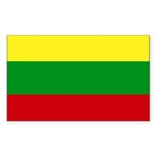 Lithuania Rectangle Decal