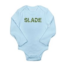 Slade, Vintage Camo, Long Sleeve Infant Bodysuit