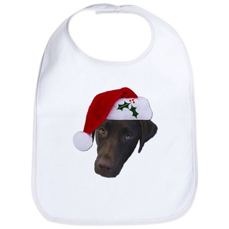 Christmas Lab Bib