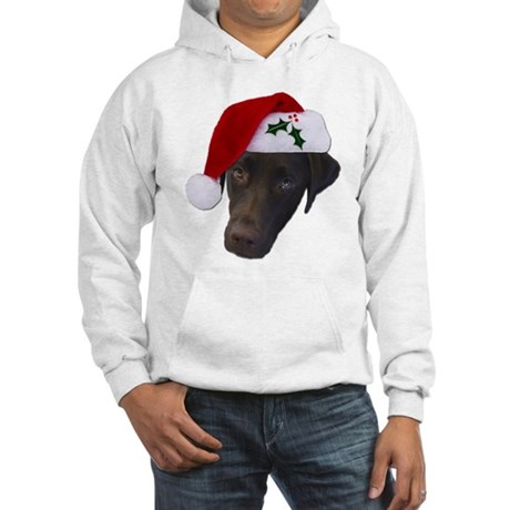 Christmas Lab Hooded Sweatshirt