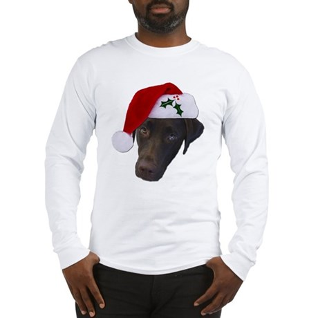 Christmas Lab Long Sleeve T-Shirt