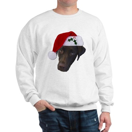 Christmas Lab Sweatshirt