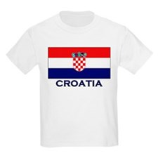 Croatia Flag Gear Kids T-Shirt