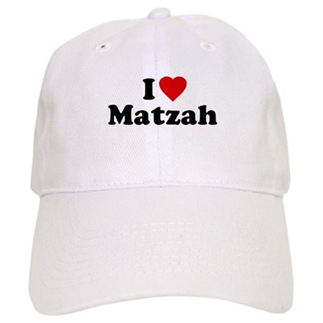 I Love [Heart] Matzah Cap