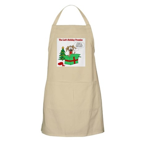 Lab Holiday Promise #1 BBQ Apron
