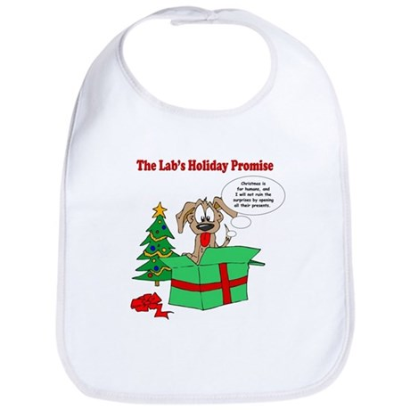Lab Holiday Promise #1 Bib