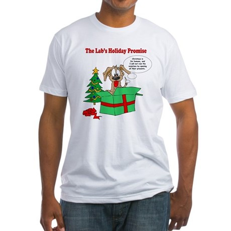 Lab Holiday Promise #1 Fitted T-Shirt
