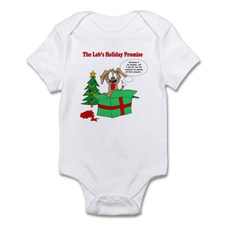 Lab Holiday Promise #1 Infant Bodysuit