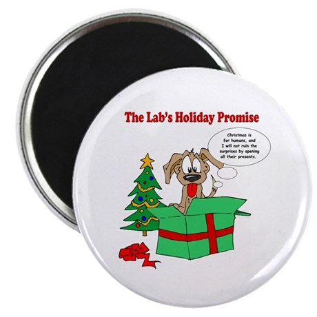 Lab Holiday Promise #1 Magnet