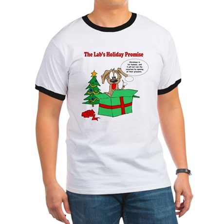 Lab Holiday Promise #1 Ringer T
