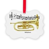 Cute Concert band Picture Ornament