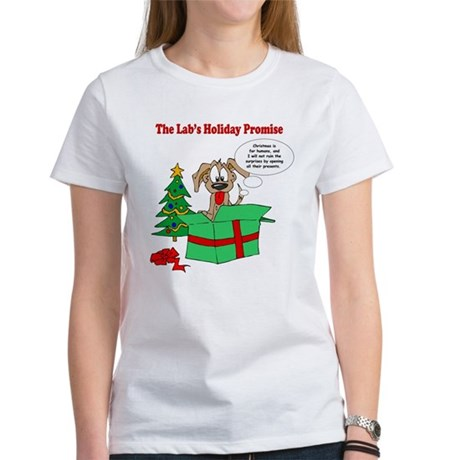 Lab Holiday Promise #1 Women's T-Shirt